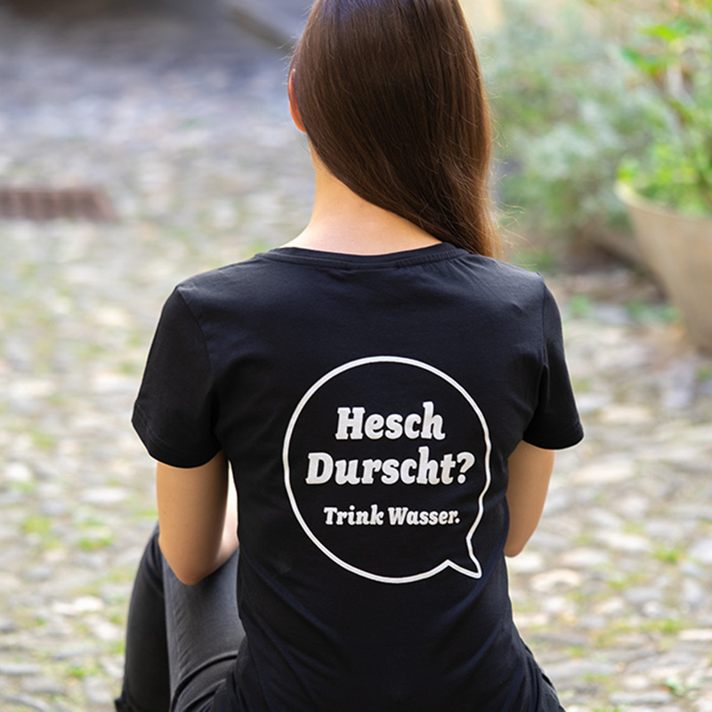 Marketing Kommunikation Bisch fit T-Shirt Rueckseite