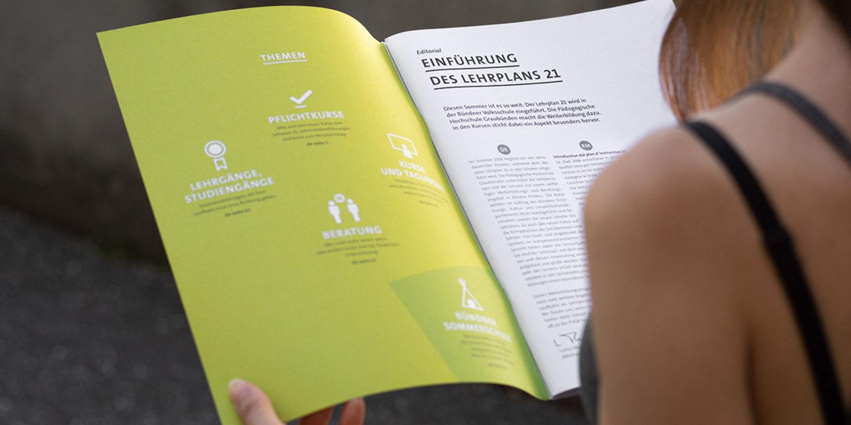 Corporate Identity phGR Weiterbildungsprogramm 02