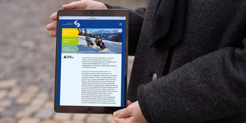 Digital Webdesign Christoffel Ferienwohnungen Webseite Header