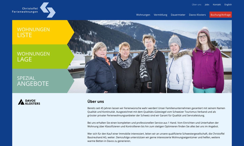 Digital Webdesign Christoffel Ferienwohnungen Webseite Ueber Uns