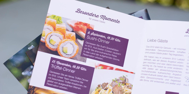 Marketing-Kommunikation B12 Print Newsletter