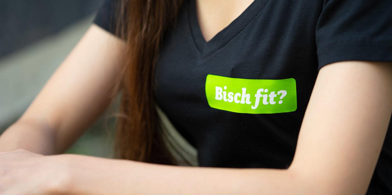 Marketing Kommunikation Bisch fit T-Shirt 02