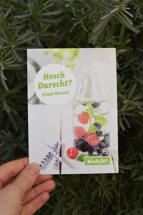 Corporate Identity Bisch fit Flyer