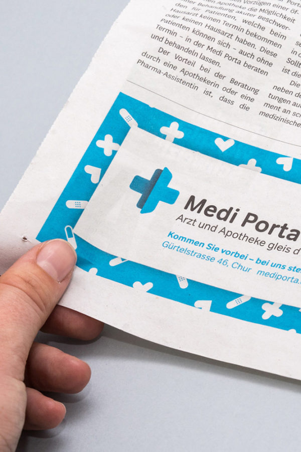 Corporate Identity Medi Porta Inserat