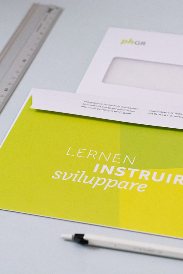 Corporate Identity phGR Briefschaften