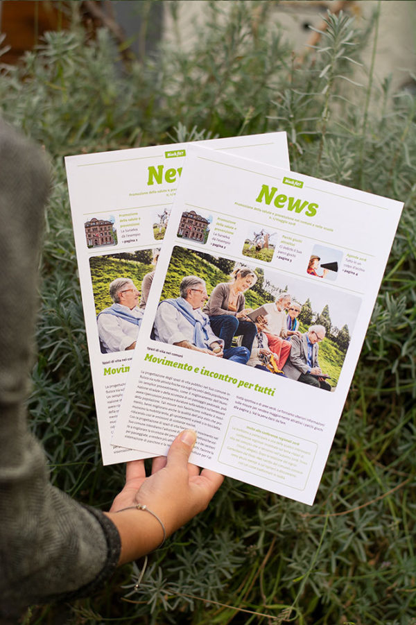 Marketing Kommunikation Bisch fit Print Newsletter 02