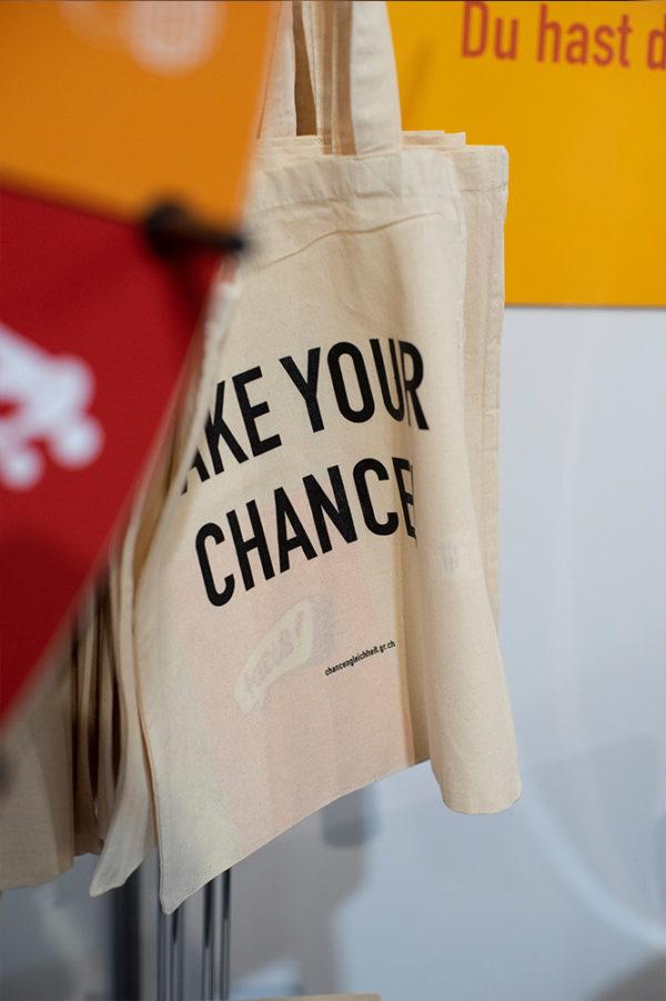 Marketing Kommunikation Stabstelle fuer Chancengleichheit Stofftasche