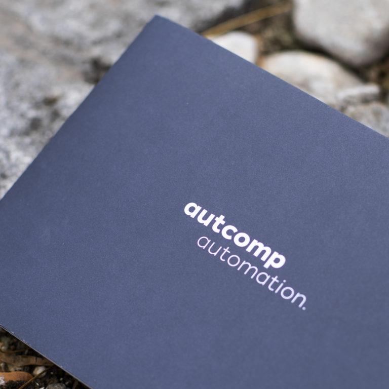 Miux Corporate Identity Autcomp Broschüre