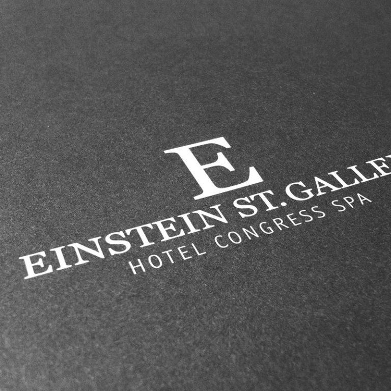 Corporate Identity Hotel Einstein St. Gallen Projekt