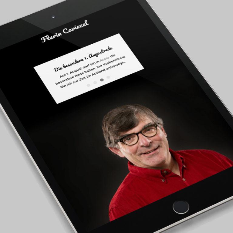 Digital Webdesign Flurin Caviezel Projekt