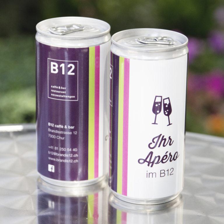 Marketing Kommunikation B12 Getraenkedose