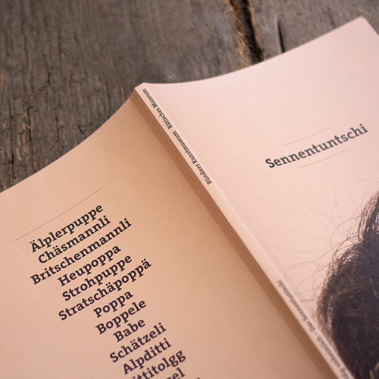 Marketing Kommunikation Buendner Kunstmuseum Sennentuntschi Projekt