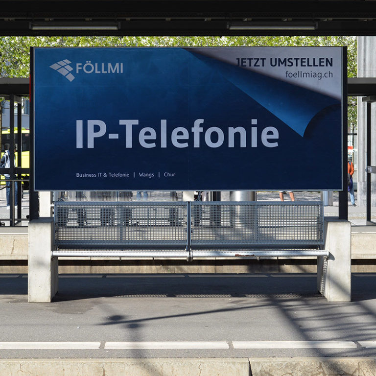 Marketing Kommunikation Foellmi AG Plakat Projekt