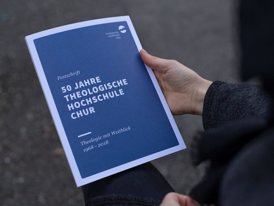 Corporate Design Theologische Hochschule Chur Festschrift