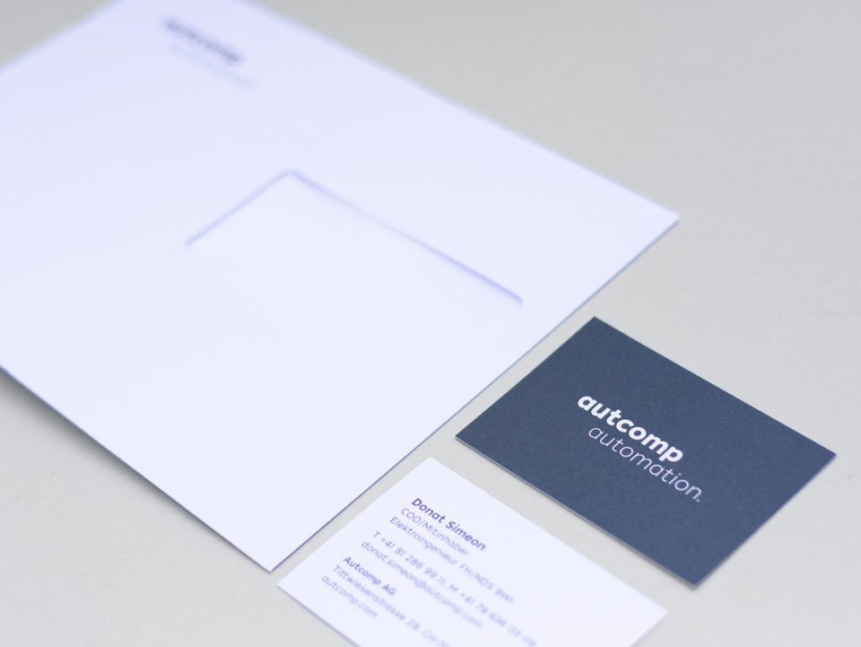 Corporate Identity Autcomp Briefschaft 01