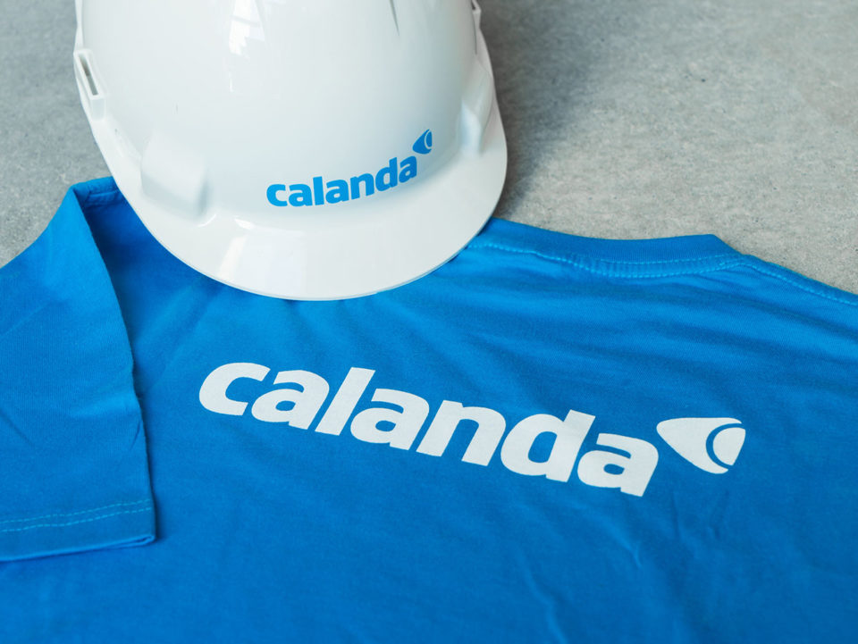 Corporate Identity Calanda Gruppe Kennzeichnung Corporate Wear